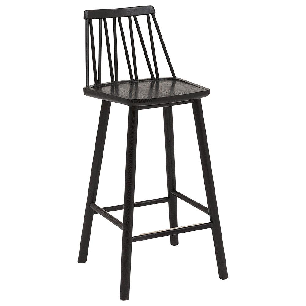 ZigZag barstol svart